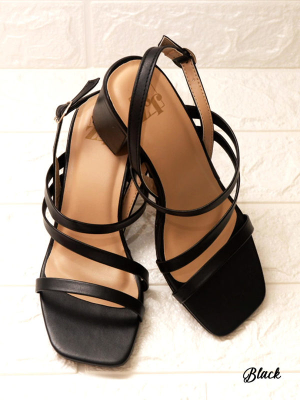 Mika Strapped 2 inch Block Heels